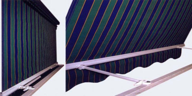 Instalaci n de toldos verticales toldos pino for Guias para toldos verticales