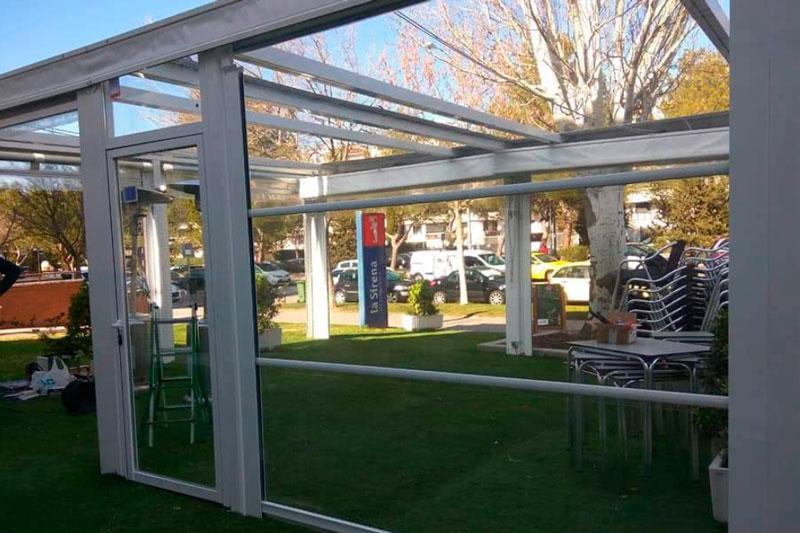 cerrar la terraza de tu restaurante