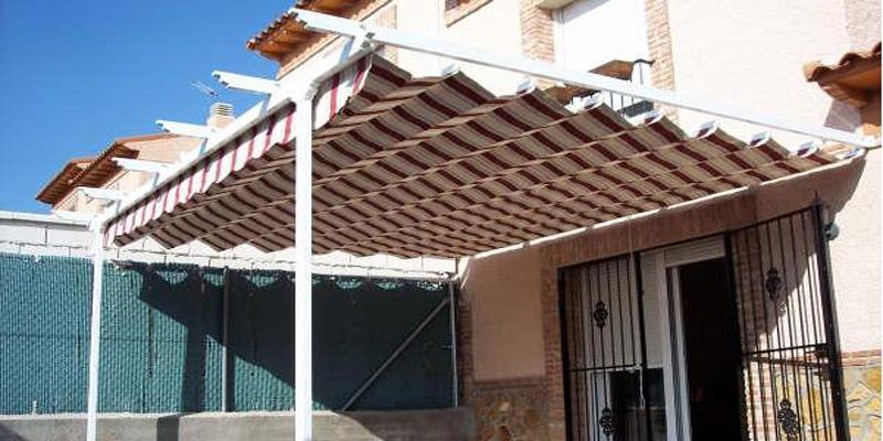 pérgolas para terrazas en madrid